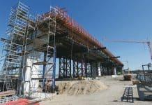 Fraport Terminal 3 Baustelle