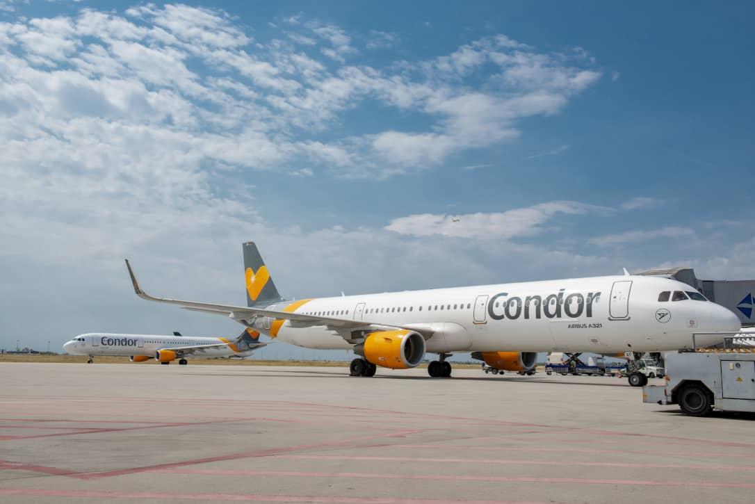 Ankunft Flughafen München Condor