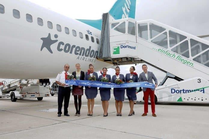 Corendon Airlines fliegt Dortmund – Hurghada
