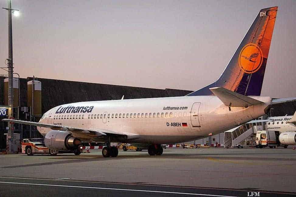 Lufthansa Abflüge