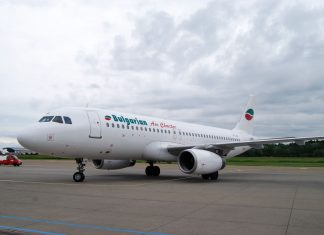 Bulgarian Air Charter fliegt mit A320 vom Bodensee