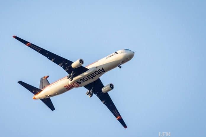Airbus testet klappbare Flügelspitzen im Flug am A321