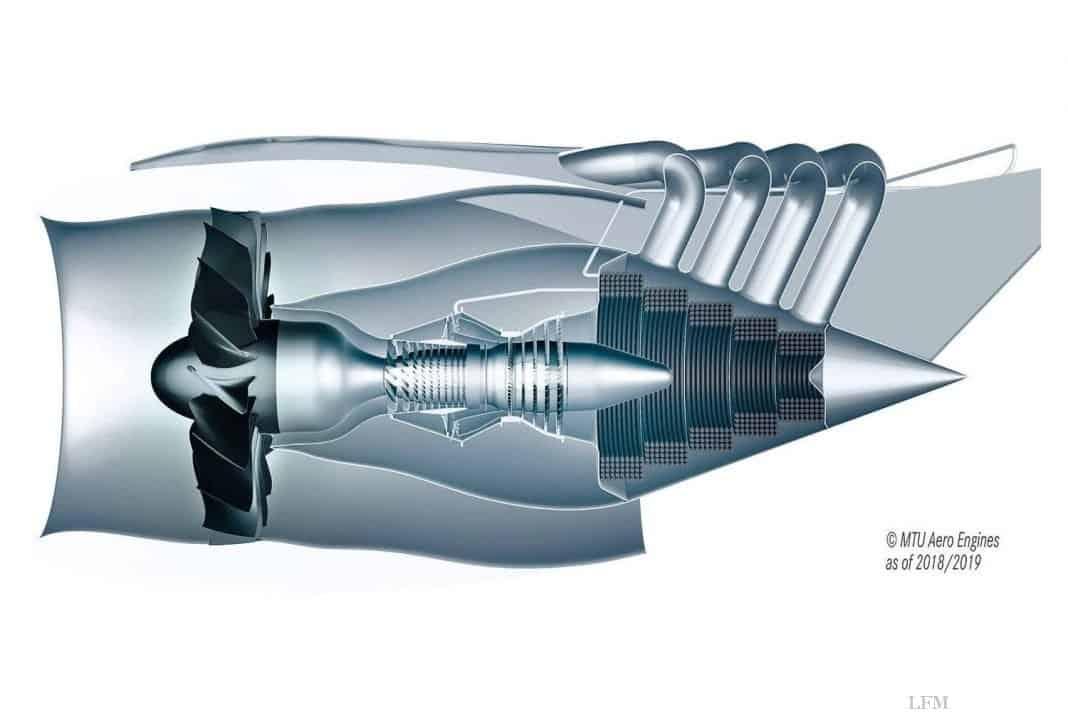 MTU präsentiert zukünftige Luftfahrtantriebe in Paris