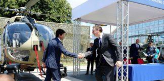 Serbien erhält H145M und Wartungsdrehkreuz für Gazelle