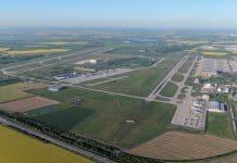 Leipzig Halle Airport - Luftaufnahme