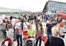 Familienfest am Flughafen Stuttgart