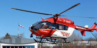 Blutkonserven: Transport im Hubschrauber