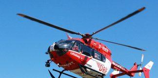 Hubschrauber der DRF Luftrettung