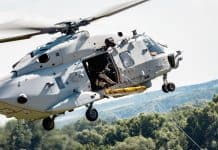 NH90 Sea Lion für die Deutsche Marine absolviert Demonstrationsflüge