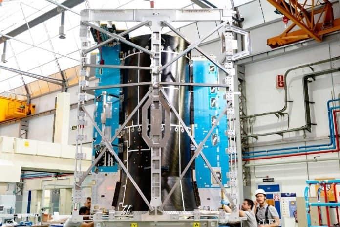 Raumsonde JUICE: Die Reise durch Europa beginnt