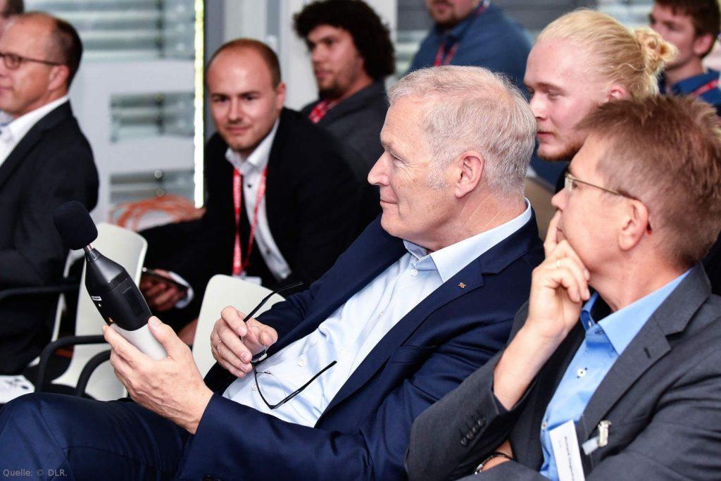 Juryvorsitzender und DLR-Luftfahrtvorstand Prof. Rolf Henke