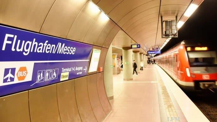 S-Bahn zum Flughafen Stuttgart