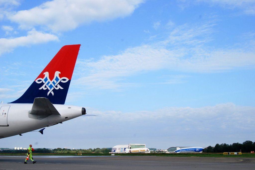 Friedrichshafen Airport: Air Serbia Erstflug aus Niš