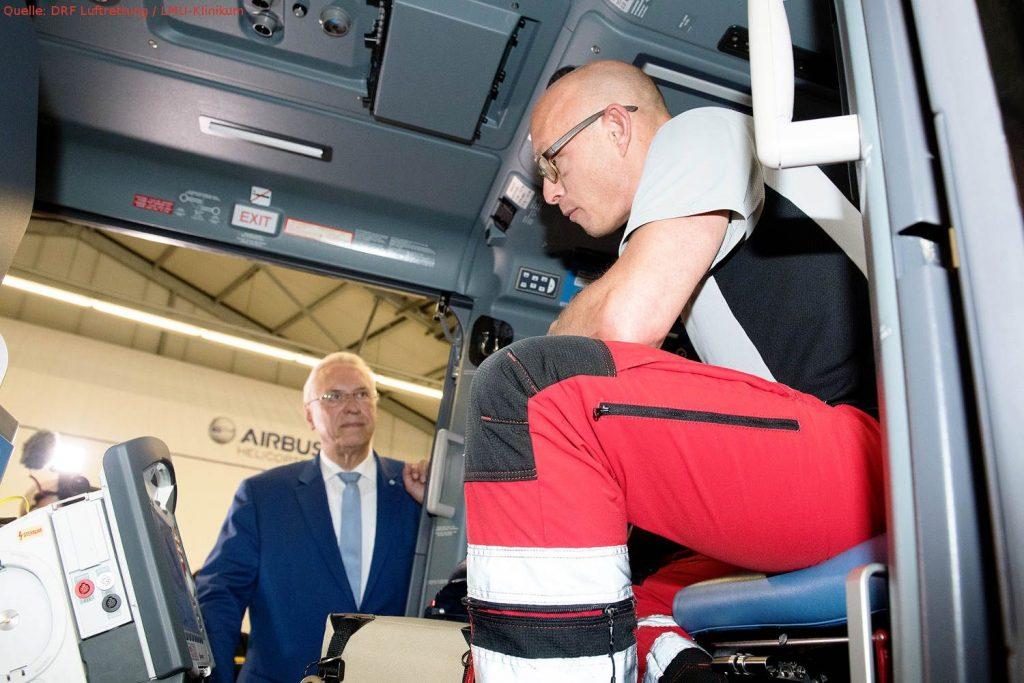 Rettungshubschrauber fliegen die meisten Einsätze in Bayern
