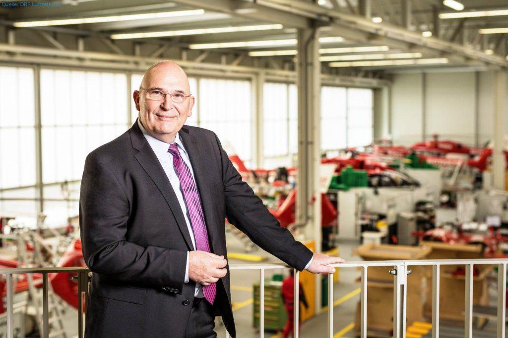 Dr. Peter Huber, Vorstand der DRF Luftrettung