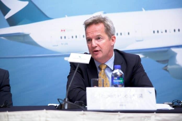 Cathay Pacific Chef Rupert Hogg tritt zurück