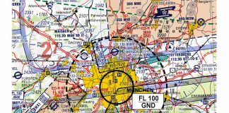 Kartendarstellung des Beschränkungsgebietes und der RMZ