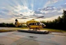 Christoph 66 der ADAC Luftrettung wird ab sofort für die Westpfalz zu Rettungsflügen abheben