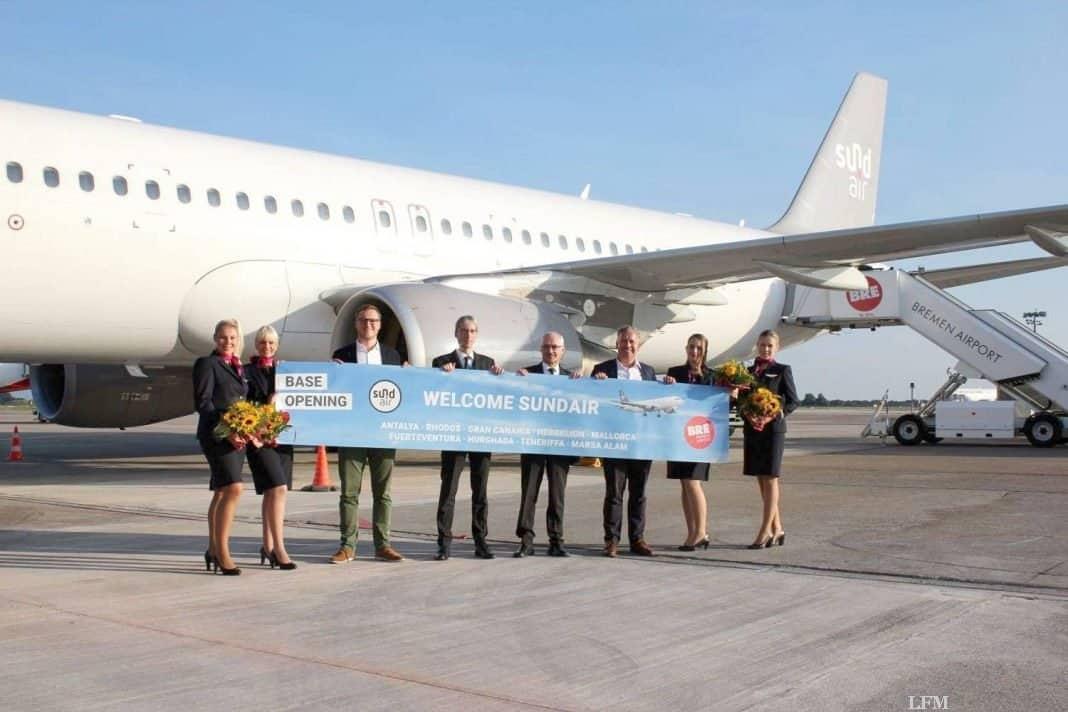 Sundair fliegt zahlreiche Ziele ab Bremen an