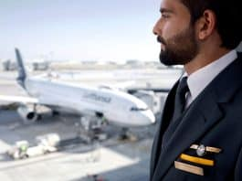 Lufthansa Flugbegleiter