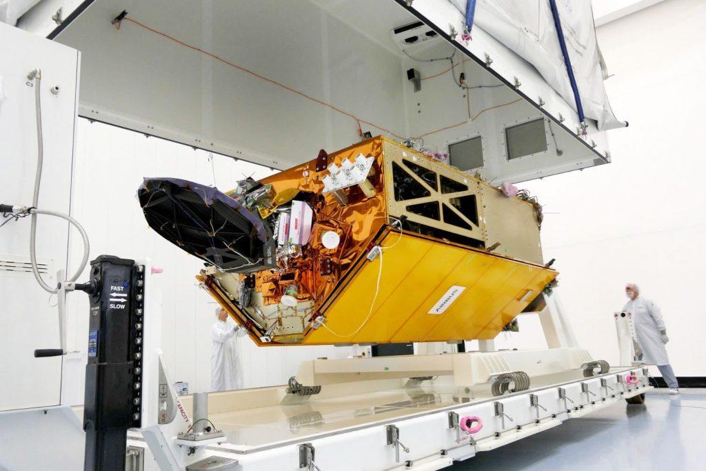 "Airbus Ozean-Satellit ""Copernicus Sentinel-6"" reist nach Ottobrunn"