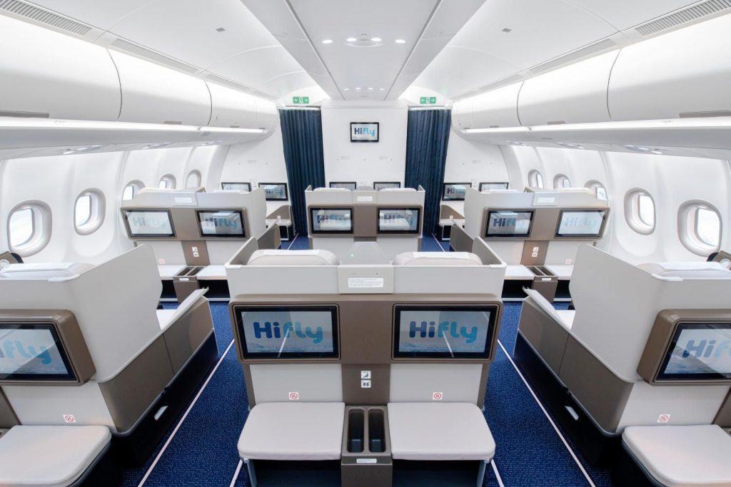 Hi Fly aus Portugal fliegt erstmals Airbus A330neo