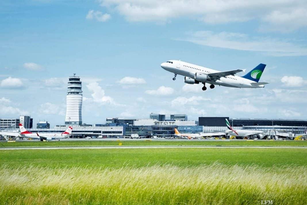 Flughafen Wien verzeichnet 20,9% mehr Passagiere