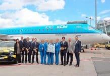 KLM feiert 100. Geburtstag und erste Fokker in Nürnberg