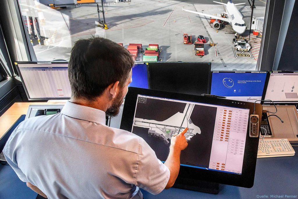 IAO-Innovationen im Test am Flughafen Hamburg
