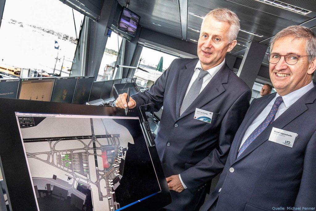 Prof. Dirk Kügler und Michael Eggenschwiler