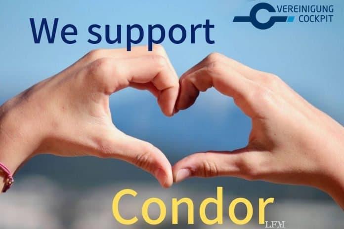 Piloten appellieren für Hilfe für profitable Condor