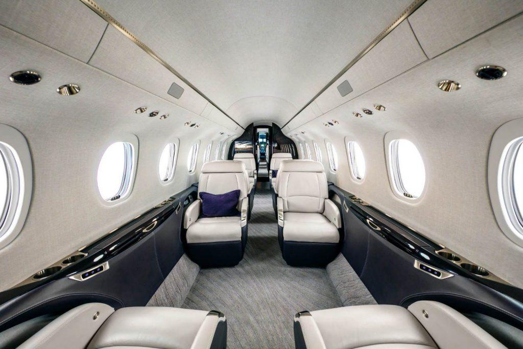 Cessna Citation Longitude Kabine