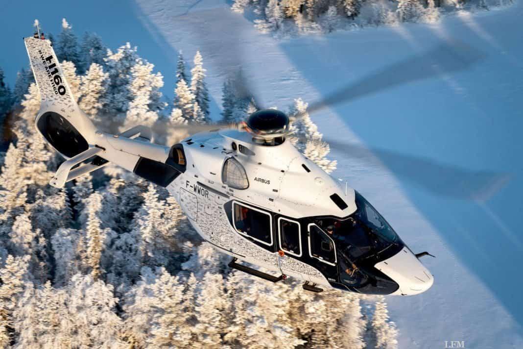 Airbus Super-Heli ACH160 auf der Monaco Yacht Show