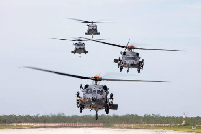 Lockheed Martin baut HH-60W Combat Rescue Helicopter