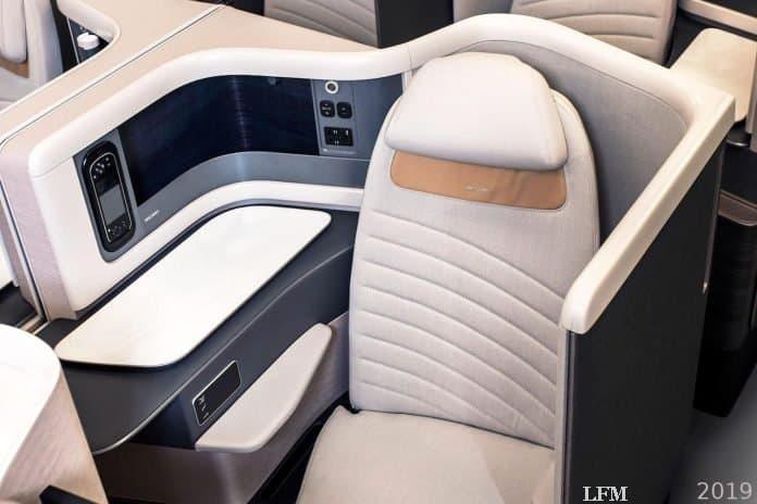 RECARO Flugzeugsitz Modell CL6710NG