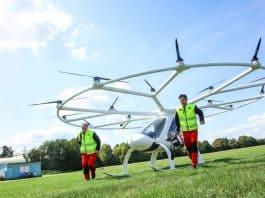 Volocopter für Rettungsflüge im Test der Luftrettung