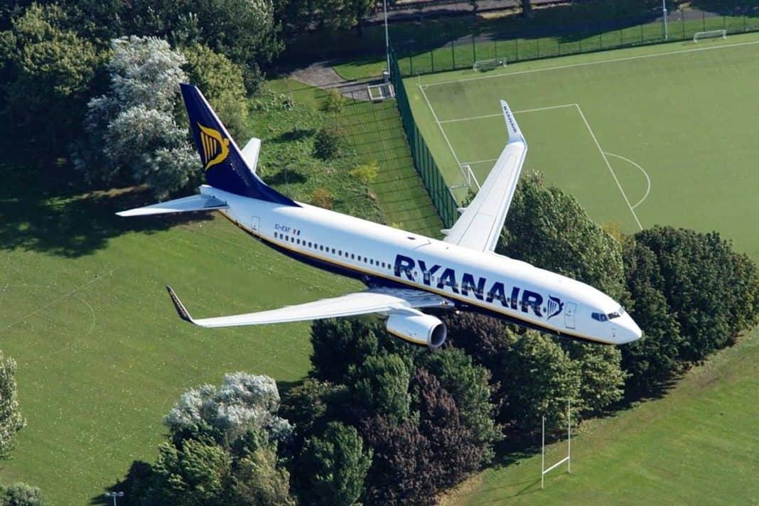 Ryanair fliegt mit 67g CO2 pro Personenkilometer