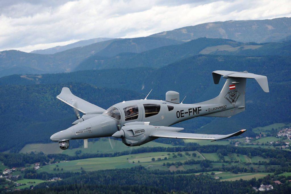 Diamond DA62 MPP als Safran EuroFlir 410 Aufklärer
