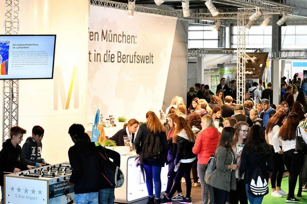 Flughafen München lädt Schüler zur Berufsmesse