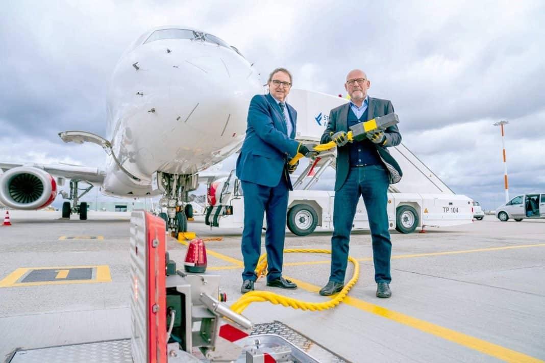 Flughafen Stuttgart: Neue Ground-Power für Flugzeuge