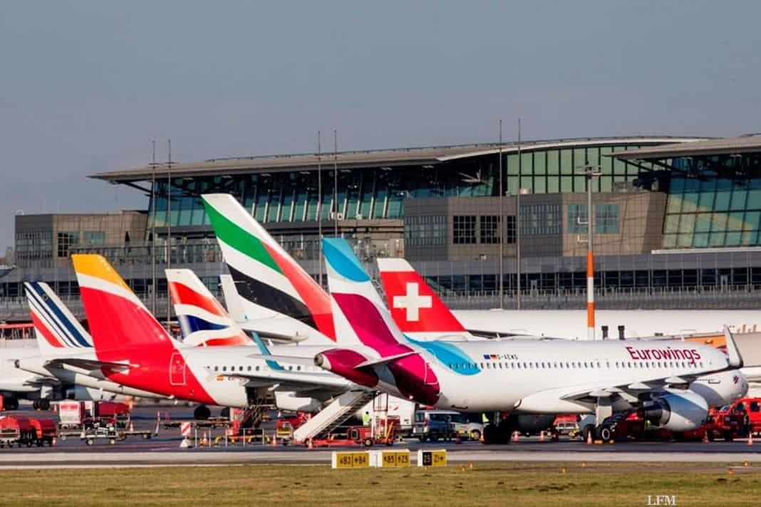 Reisewelle am Flughafen Hamburg: Der Airport gibt Tipps