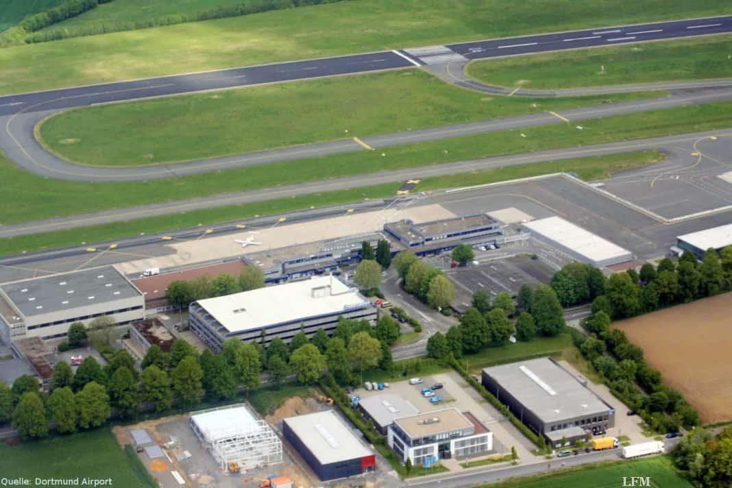 Flughafen Dortmund: 2.000.000 Fluggäste zum 3. Quartal