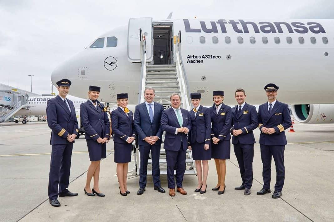 Lufthansa nennt ihren ersten Airbus A321neo
