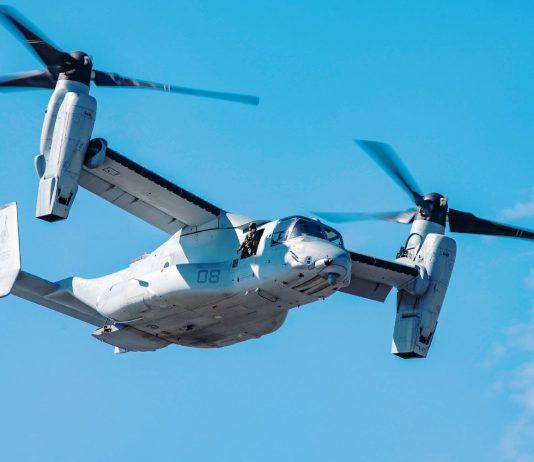 Kipproter-Flieger V-22 Osprey