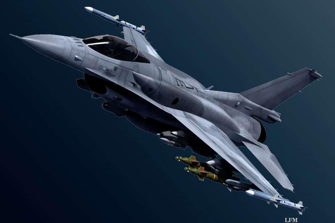 F-16 der Air Force