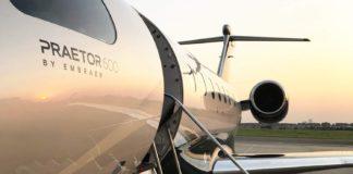 Ruag holte Business Jet Embraer Praetor in Brasilien ab