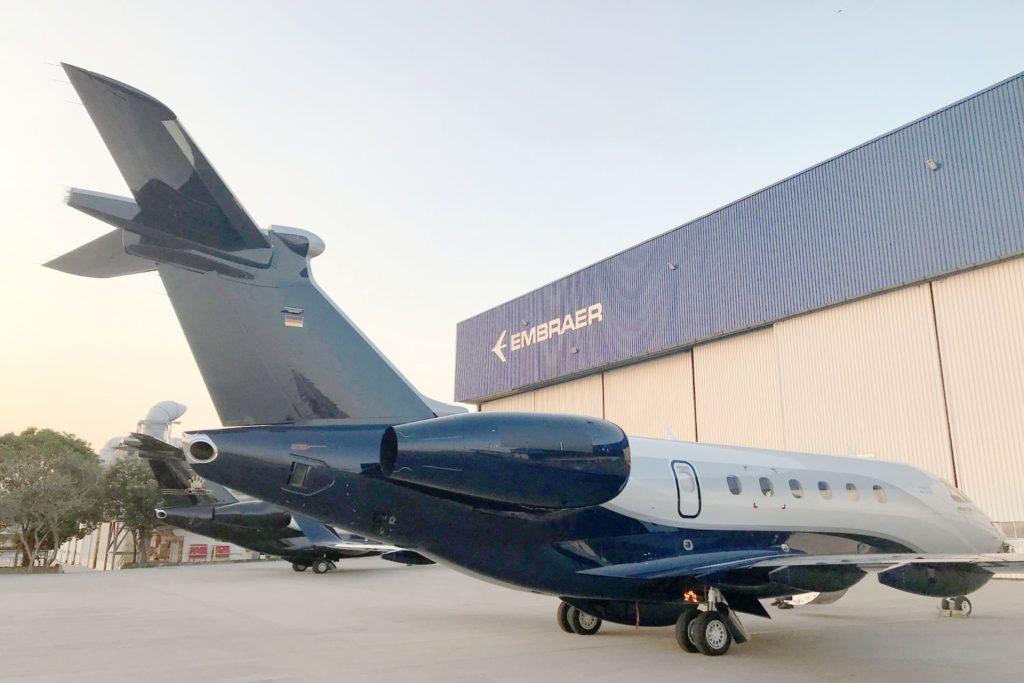 Business Jet Embraer Praetor