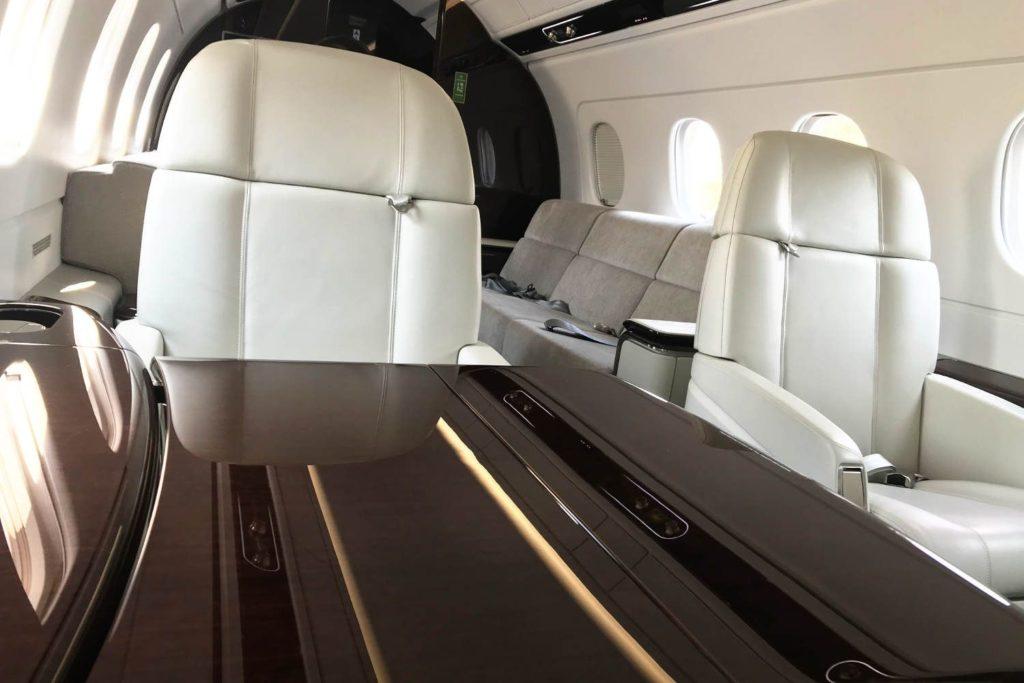 Business Jet Embraer Praetor Innenkabine