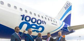 Airbus liefert 1.000. A320neo an IndiGo