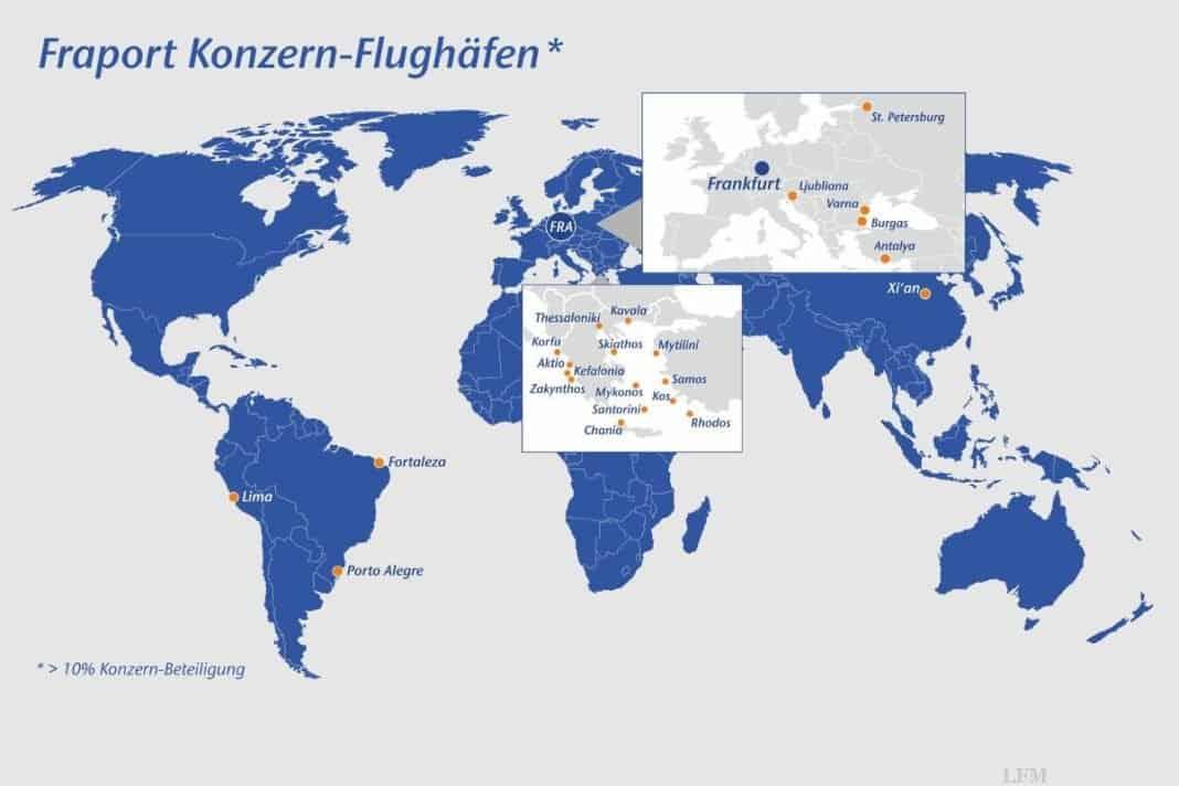 Flughafen Frankfurt zählt mehr Flüge und Passagiere